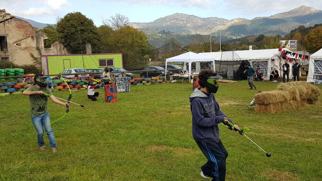 Paintball, Splatmaster y Archery Attack - ideas de turismo activo en Asturias